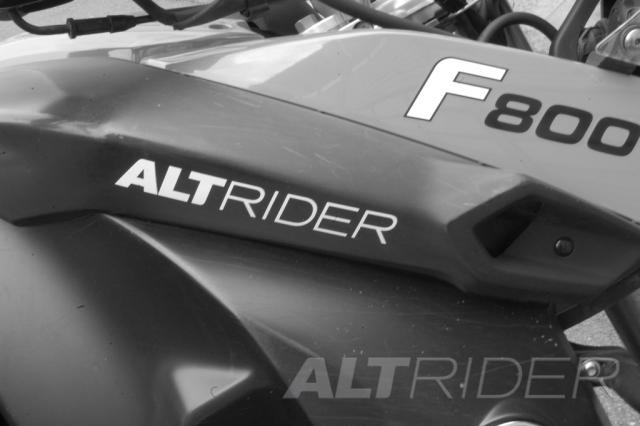 ALTRIDER DECAL KIT FOR THE F 800 / F 650 / F 700 GS - Feature