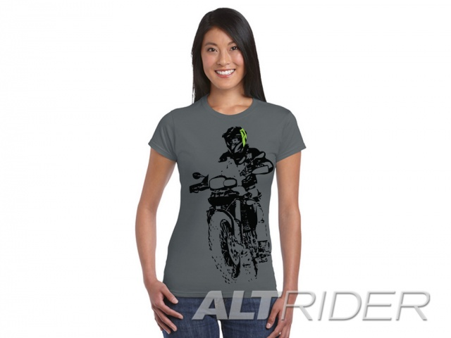 AltRider F 800 Throttle Up Women's T-Shirt - Medium - Feature