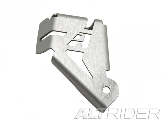 AltRider Rear Brake Reservoir Guard for the BMW R 1200 & R 1250 GS /GSA Water Cooled - Silver - Feature