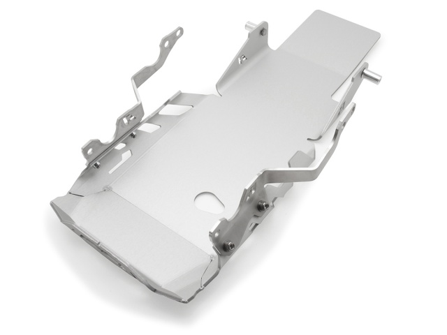 AltRider Skid Plate for the BMW R 1200 GS Adventure Water Cooled - Silver - Feature