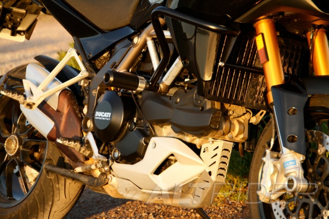 AltRider Barre anti-caduta e kit di tamponi per Ducati Multistrada 1200 - Installed