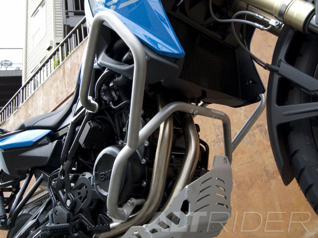 AltRider Barre anti-caduta per BMW F 800 GS - Installed