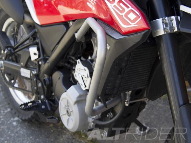 AltRider Barre anti-caduta per Husqvarna TR650 Terra and Strada - Installed