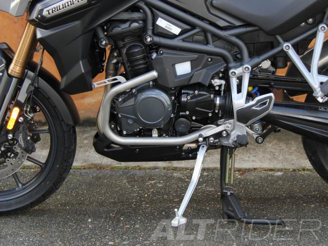 AltRider Barre anti-caduta per Triumph Tiger Explorer 1200 - Installed