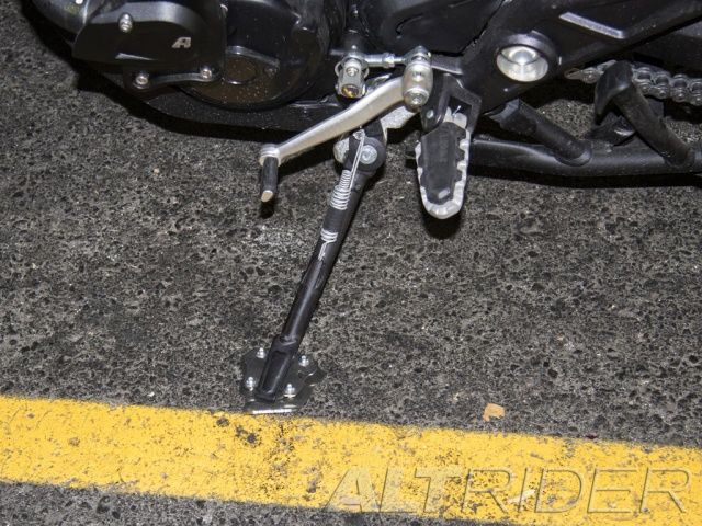 AltRider Cavalletto laterale per Ducati Multistrada 1200 - Installed