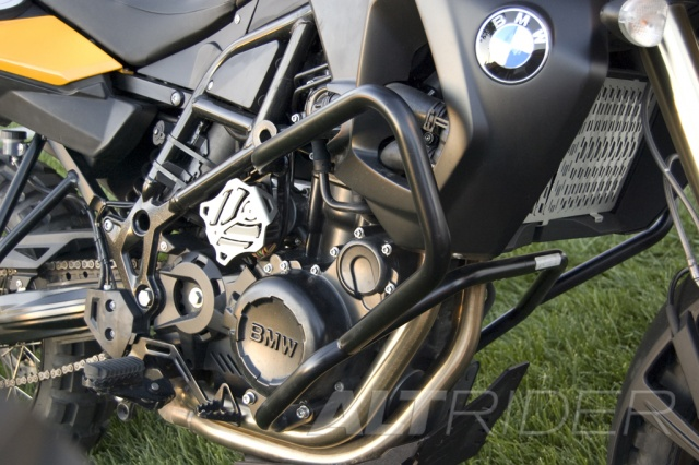 AltRider Crash Bars for the BMW F 650 GS - Installed