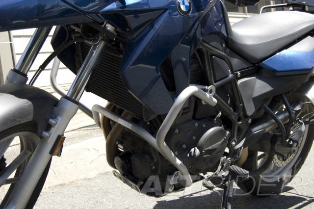 AltRider Crash Bars for the BMW F 650 GS / F 700 GS - Installed
