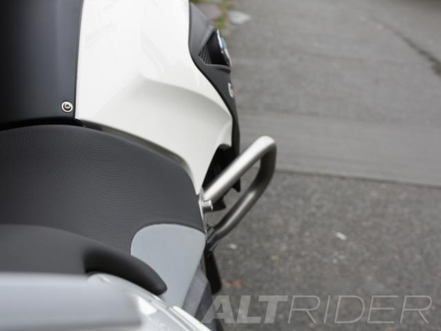 AltRider Crash Bars for the BMW G 650 GS - Installed
