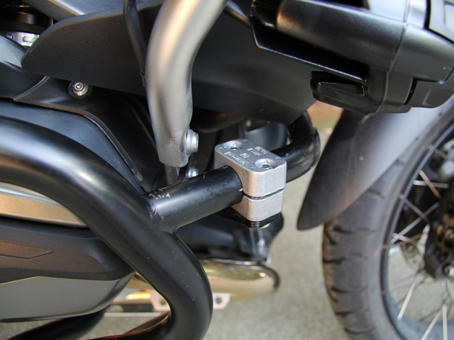AltRider Crash Bars for the BMW R 1200 GS Adventure Water Cooled - Installed