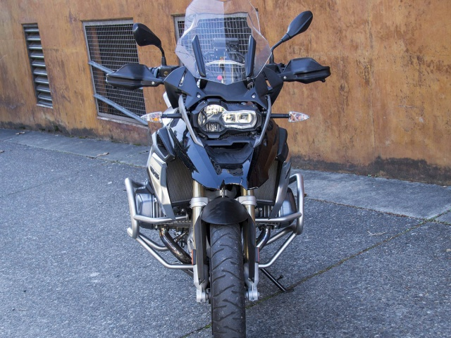 AltRider Crash Bars for the BMW R 1250 GS - Installed