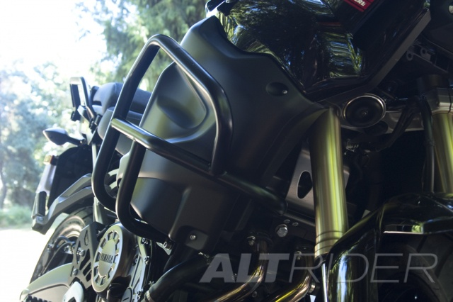AltRider Crash Bars for the Yamaha Super Tenere XT1200Z - Installed