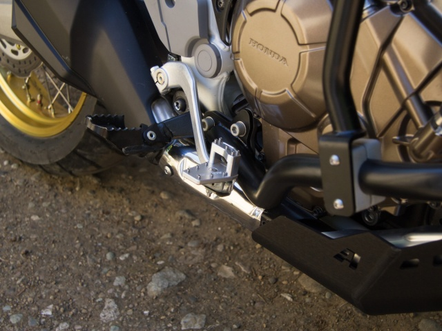 AltRider DualControl Brake System for Honda CRF1000L and CRF1100L Africa Twin/ ADV Sports - Installed