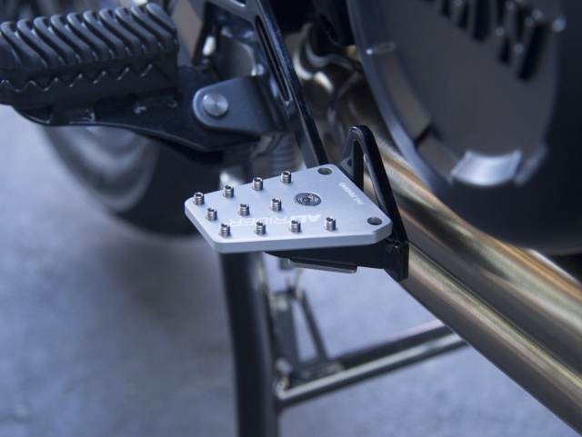 AltRider DualControl Brake System for the BMW F 800 GS - Installed