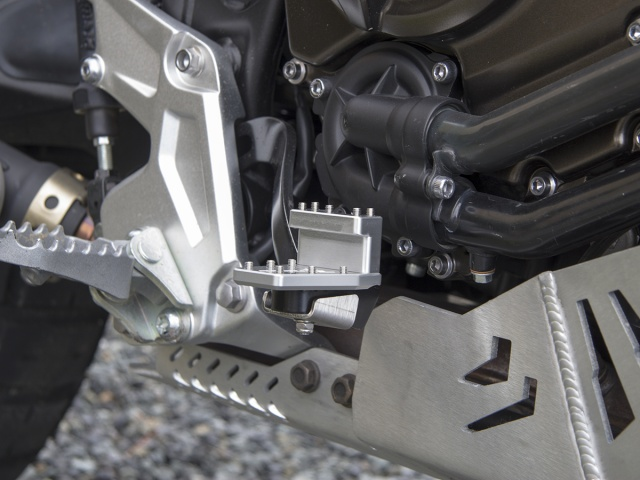 AltRider DualControl Brake System for the Yamaha Tenere 700 - Installed