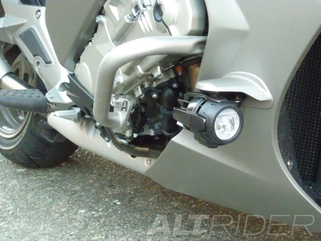 AltRider Engine Protection Bars for BMW K 1600 GT / GTL - Installed