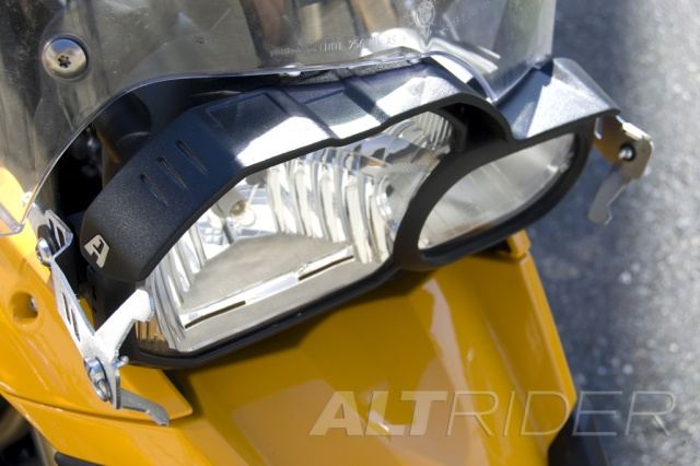 AltRider Glare Guard for the BMW F 800 GS  - Installed