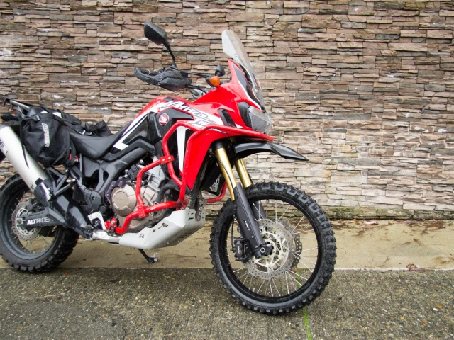 AltRider High Fender Kit for Honda CRF1000L and CRF1100L Africa Twin/ ADV Sports - Installed
