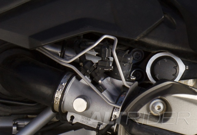 AltRider Injector Protector for the BMW R 1200 GS - Installed