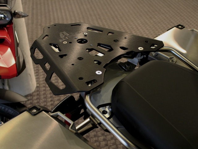AltRider Luggage Rack Brackets for the BMW R 1200 & R 1250 GS Adventure - Installed
