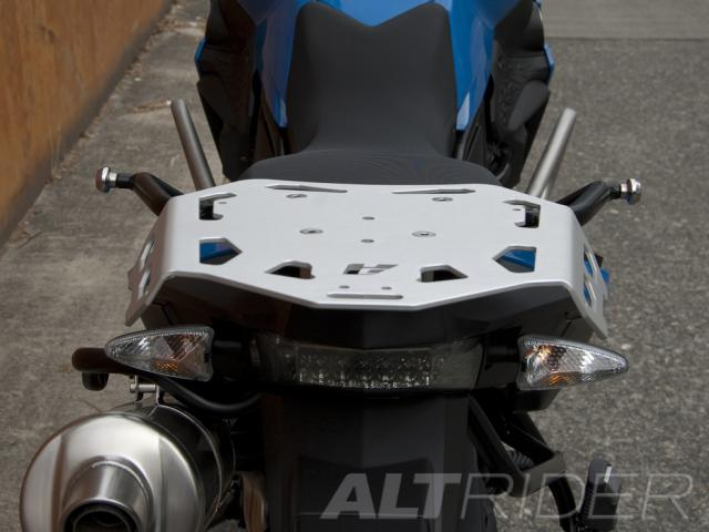 AltRider Luggage Rack for BMW F 650 GS / F 700 GS - Installed