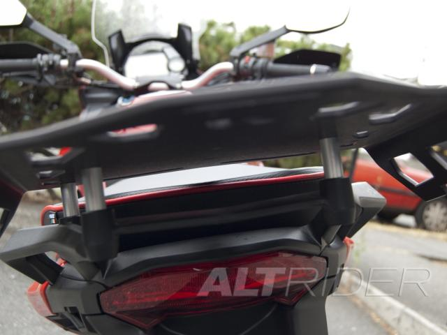 AltRider Luggage Rack for Ducati Multistrada 1200 (2010-2014) - Installed