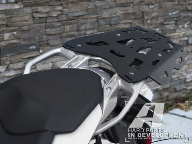 AltRider Luggage Rack for the BMW S 1000 XR - Installed