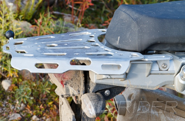 AltRider Luggage Rack Lower Position for R 1200 GS - Installed