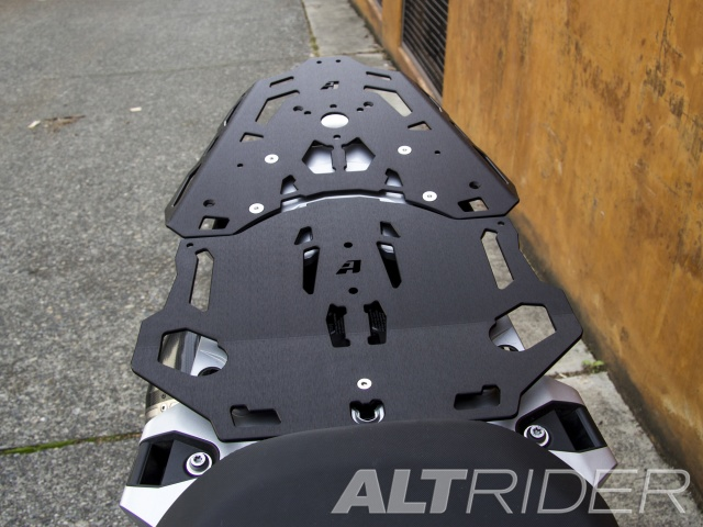 AltRider Luggage Rack System for BMW R 1200 GS Water Cooled - Installed