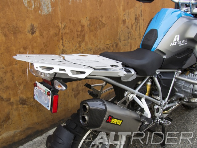 AltRider Luggage Rack System for BMW R 1200 & R 1250 GS /GSA Water Cooled - Installed