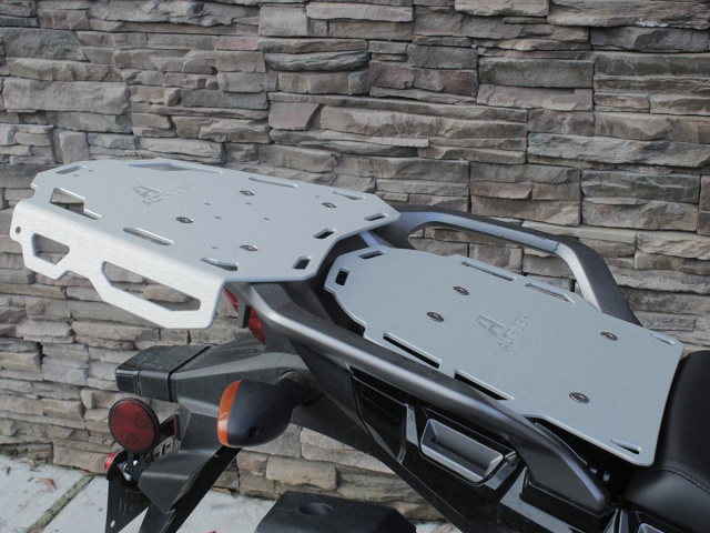 AltRider Luggage Rack System for the Honda CRF1000L Africa Twin - Installed