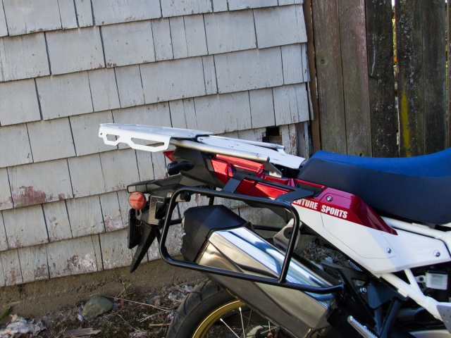 AltRider Luggage Rack System for the Honda CRF1000L Africa Twin Adventure Sports - Installed