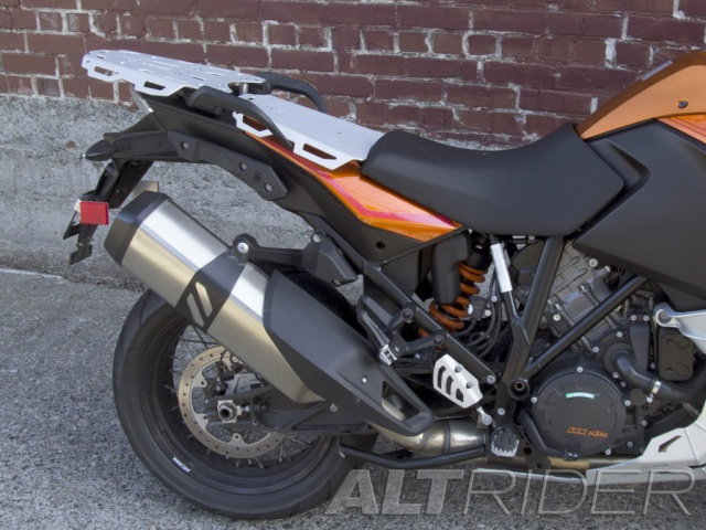 AltRider Luggage Rack System for the KTM 1050/1090/1190 Adventure / R - Installed