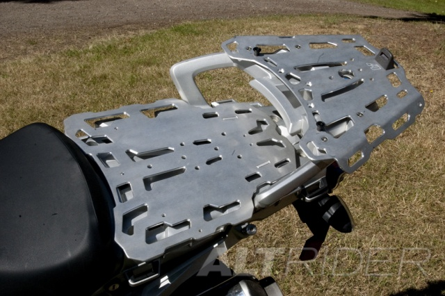 AltRider Pillion Luggage Rack for BMW R 1200 GS - Installed