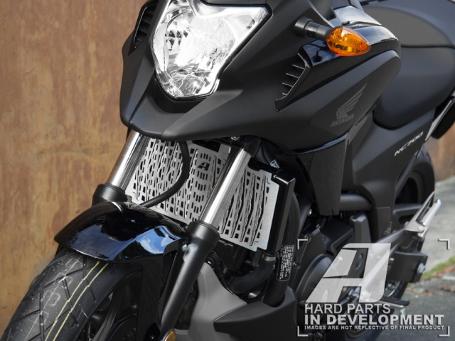 AltRider Radiator Guard for Honda NC750X - Installed