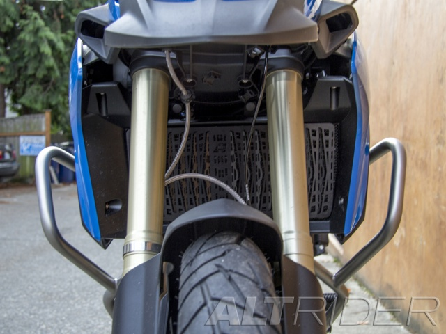 AltRider Radiator Guard for the BMW F 800 GS /A - Installed