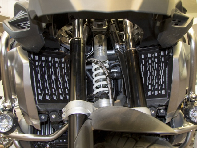 AltRider Radiator Guard for the BMW R 1250 GS Adventure Water Cooled - Installed