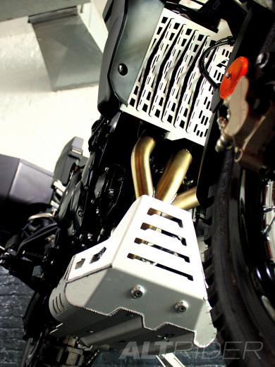 AltRider Radiator Guard for Triumph Tiger 800 (2011-2014) - Installed