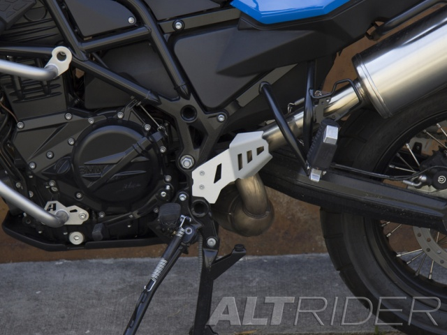 AltRider Rear Exhaust Guard for BMW F 700 GS - Installed