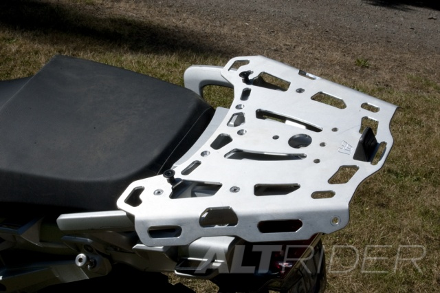AltRider Rear Luggage Rack for BMW R 1200 GS - Installed