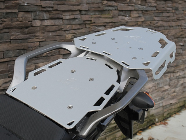 Altrider Rear Luggage Rack for the Honda CRF1000L Africa Twin - Installed