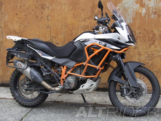 AltRider Rear Luggage Rack for the KTM 1050/1090/1190/1290 Adventure / R - Installed