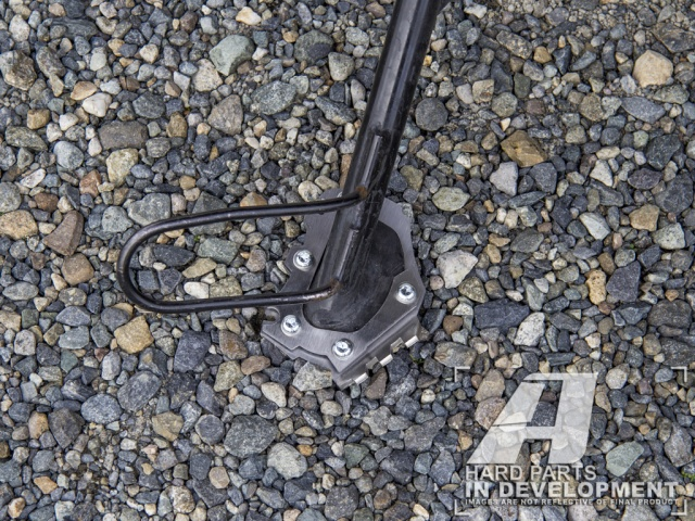 AltRider Side Stand Foot for the BMW G 650 GS - Installed