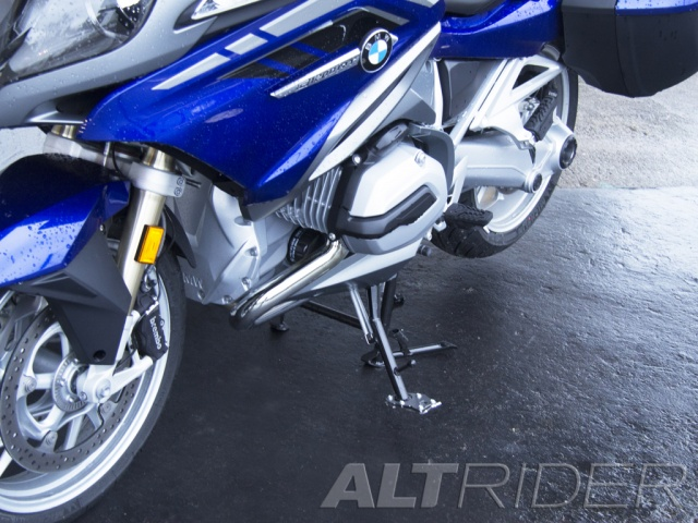 AltRider Side Stand Foot for the BMW R 1200 RT Water Cooled - Installed