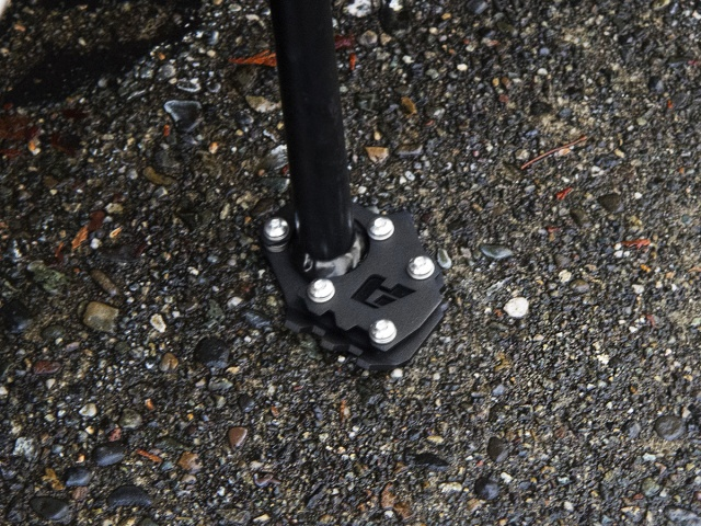 AltRider Side Stand Foot for the KTM 790/1050/1090/1190 Adventure / R  (2014-current) - Installed