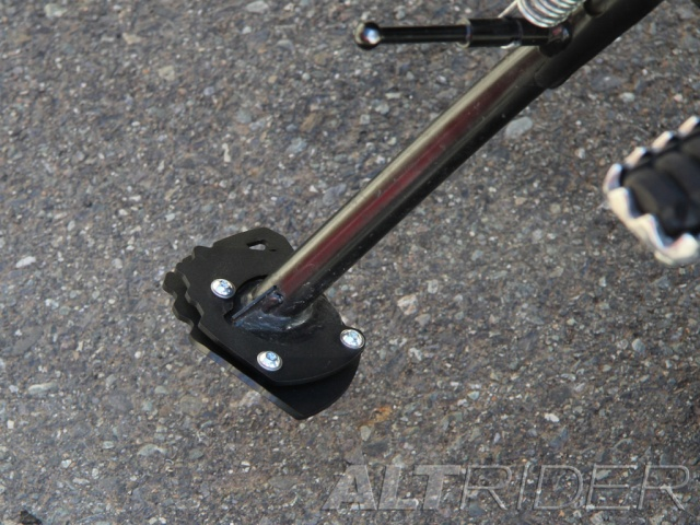 AltRider Side Stand Foot for the Yamaha Super Tenere XT1200Z - Installed