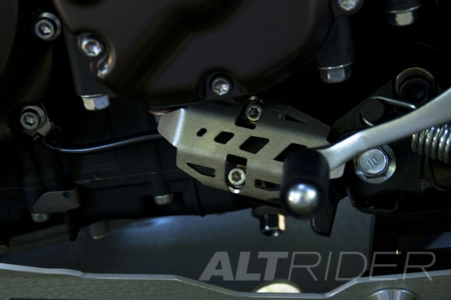 AltRider Side Stand Switch Guard for the Yamaha Super Tenere XT1200Z - Installed