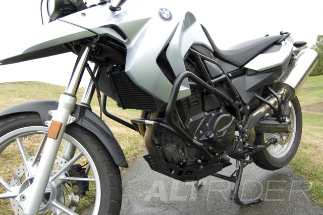 AltRider Skid Plate for BMW F 650 GS / F 700 GS - Installed