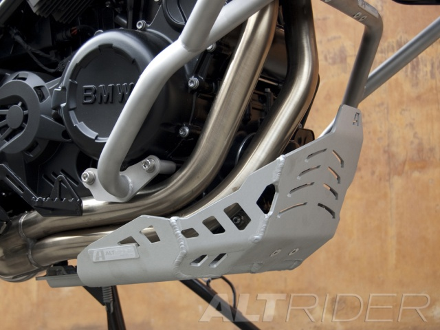 AltRider Skid Plate for BMW F 700 GS - Installed