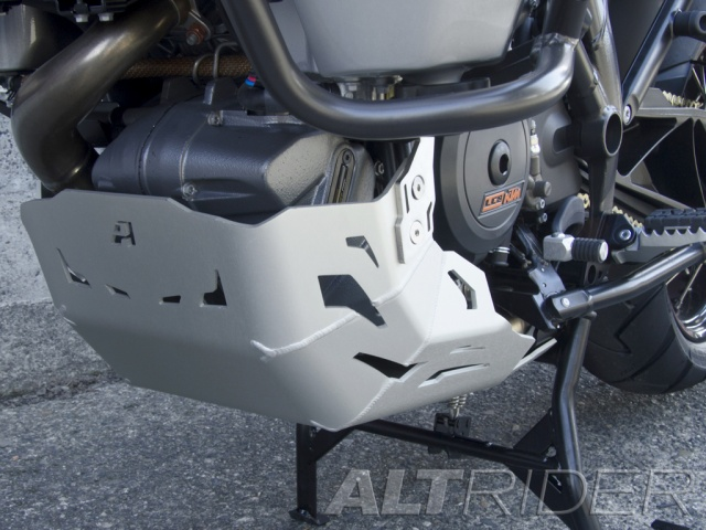 AltRider Skid Plate for the KTM 1290 Super Adventure - Installed