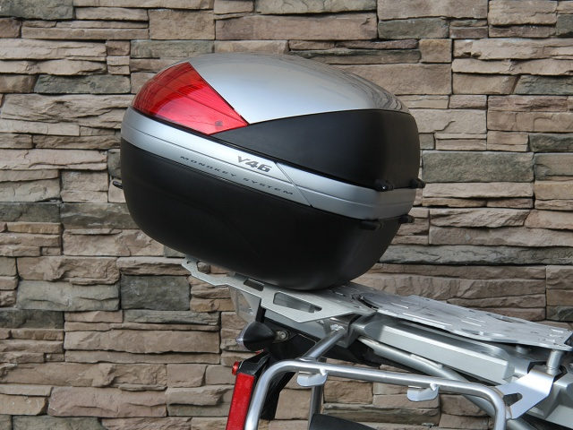 Givi Monokey Top Case Mounting Kit for AltRider Luggage Rack - Installed